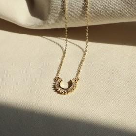 典藏傳承-幸運馬蹄鐵(18K金色)項鍊