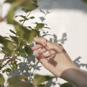 春分新生-晨曦之葉戒指