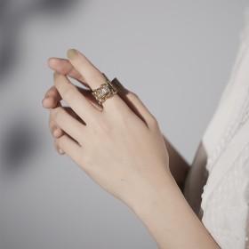 時代軌跡-金字塔秘寶戒指