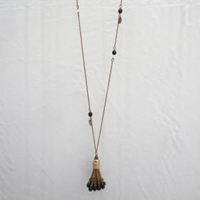 綻放永恆-波西米亞神秘魅力(黑)長項鍊